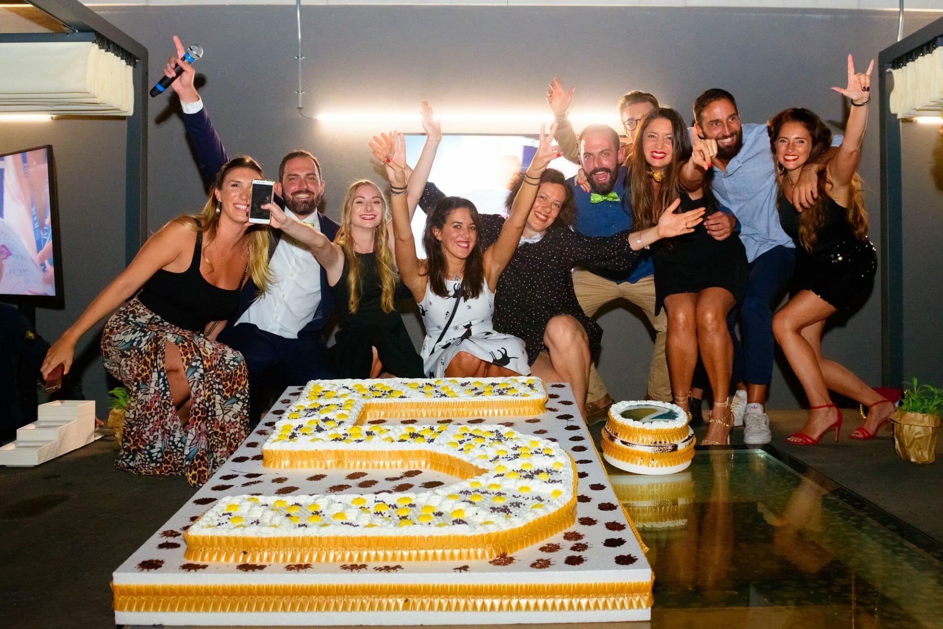 anniversario aziendale milano